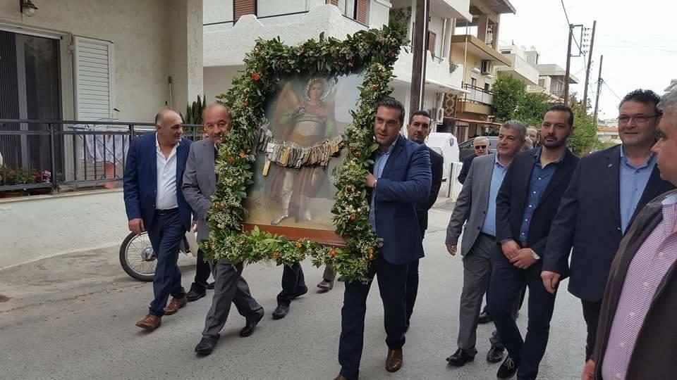 Γιόρτασε τον προστάτη του Άγιο ο Σύνδεσμος Κρεοπωλών Ηρακλείου (pics)