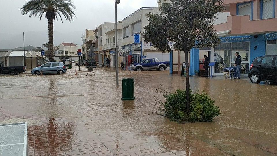 Εικόνες – Βίντεο: Πλημμύρισε η Ανατολική Κρήτη – Κινδύνευσαν άνθρωποι