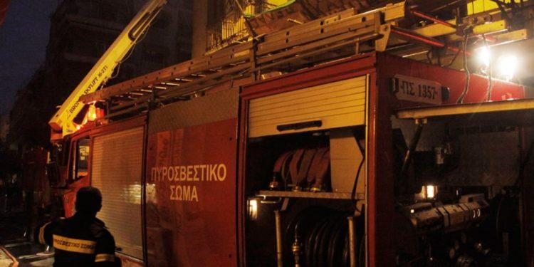 Λέβητας πήρε φωτιά σε σπίτι στο Ηράκλειο