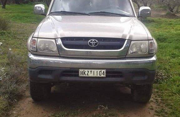 Κλάπηκε ΙΧ αγροτικό αυτοκίνητο