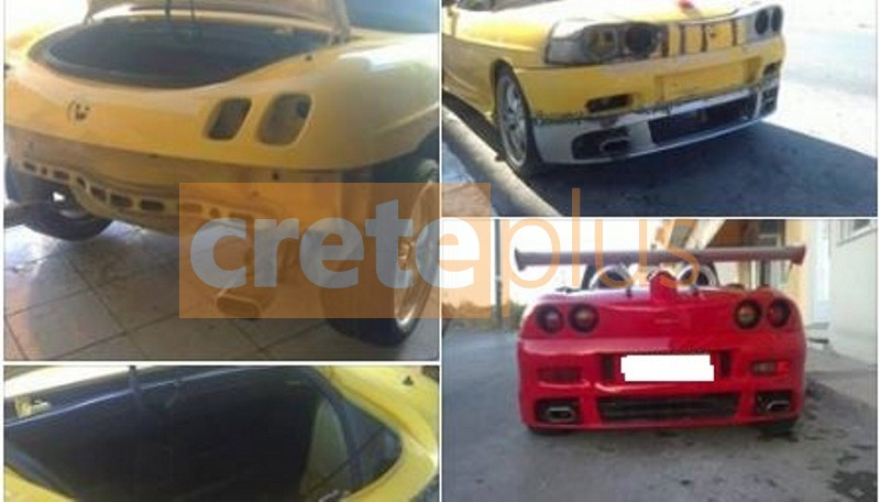 Κανει το Fiat...Ferrari: O Hρακλειώτης που μεταμορφώνει αυτοκίνητα και μηχανάκια (pics)