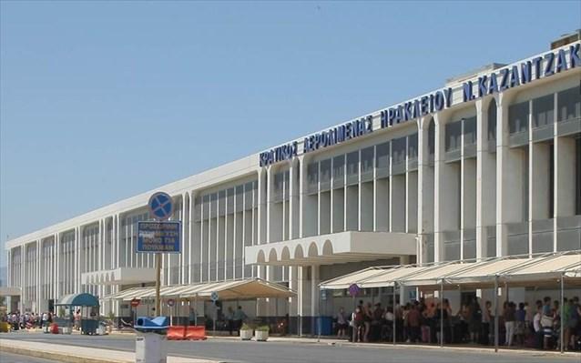 Ηράκλειο: Κανονική ...χωματερή η νέα αίθουσα στο αεροδρόμιο (Φωτογραφίες)