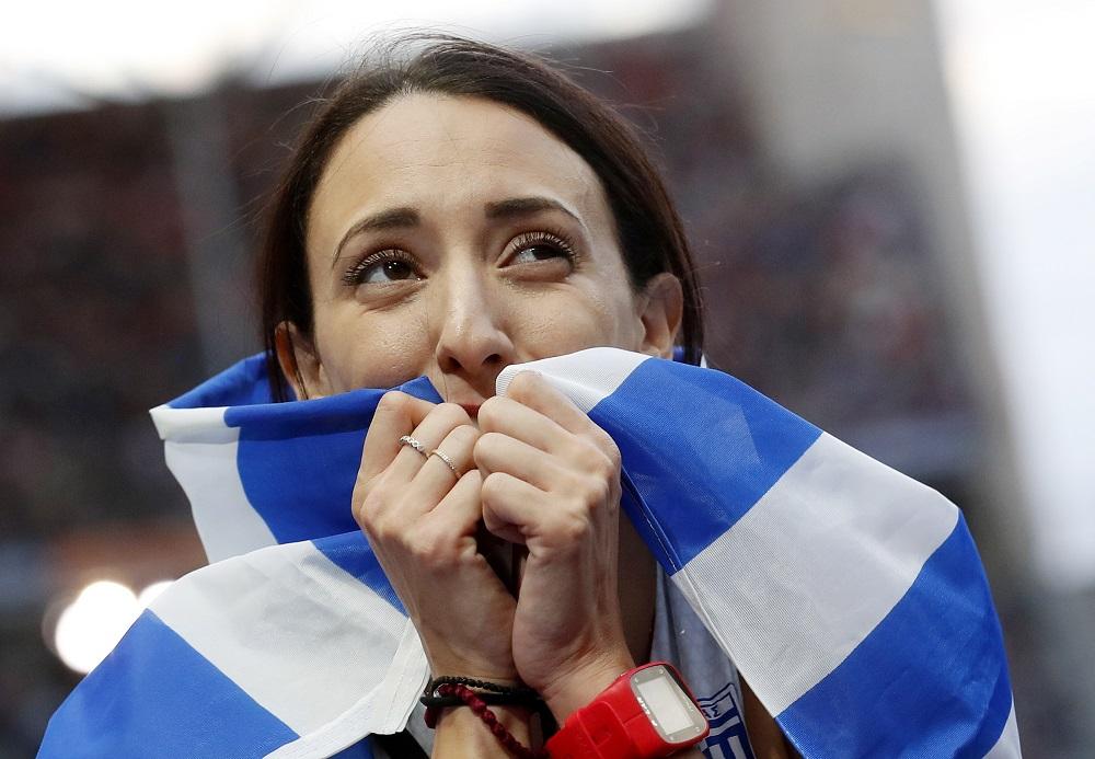 Μπελιμπασάκη: «Μπήκα στην κούρσα για να νικήσω»