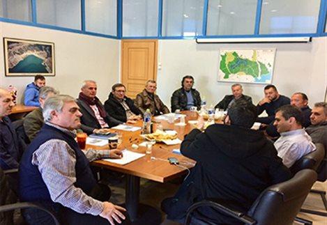 Συμβολικό θέλουν το τέλος νερού οι αρδευτές- Συνάντηση με συμμετοχή και από την Κρήτη