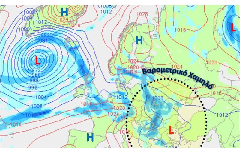 Αλλάζει το σκηνικο του καιρού στην Κρήτη- Δείτε την αναλυτική πρόγνωση από το Μανώλη Λέκκα (χαρτες)
