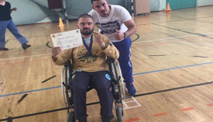 Χρυσό μετάλλιο με τα χρώματα της ¨Μεγαλονήσου¨ για τον Μιχάλη Λεμονή