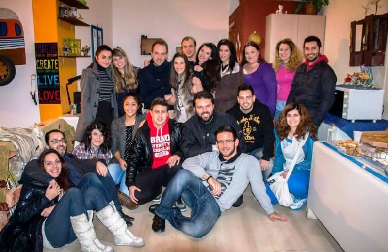 Εγκαινίασαν το γεμάτο αγάπη για τον εθελοντισμό αρχηγείο τους οι ΑΤΑΧΤΟΙ (pics)