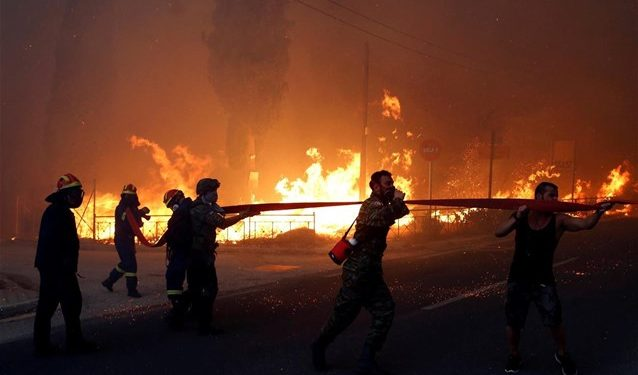 Πολύ υψηλός κίνδυνος πυρκαγιάς στην Κρήτη για αύριο Παρασκευή