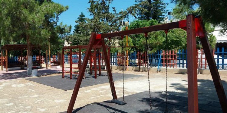 Τέσσερις υπερσύγχρονες παιδικές χαρές αποκτά το Ηράκλειο