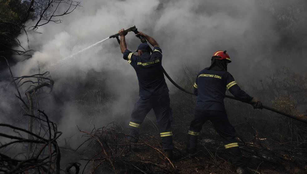 Η φωτιά στο Τσιφούτ Καστέλι είχε επεισοδιακή κατάληξη – Συνελήφθη ένας άντρας