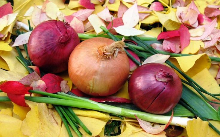Άμεση ανακούφιση από τον πονόλαιμο με κρεμμύδι