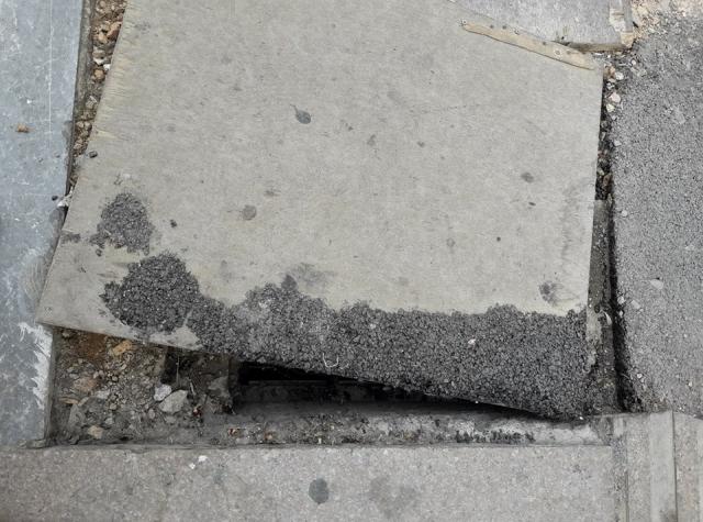 Φρεάτιο κίνδυνος - θάνατος στο κέντρο του Ηρακλείου (Φωτογραφίες)