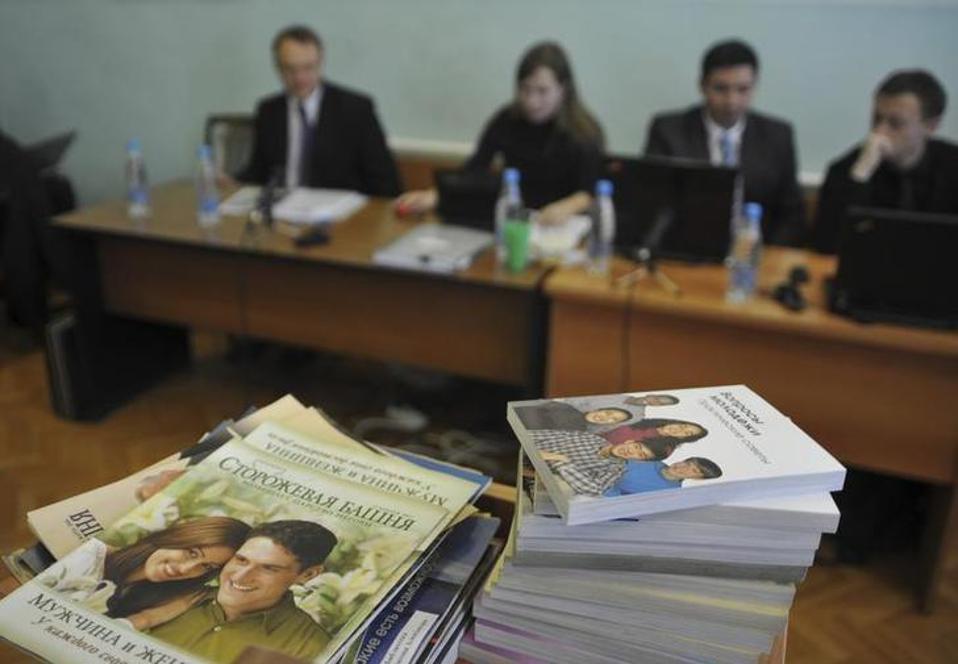 Ρωσία: «Εξτρεμιστική οργάνωση» οι μάρτυρες του Ιεχωβά