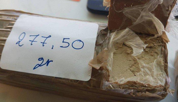 """Σύλληψη 58χρονου με... """"βράχο"""" ηρωίνης και λεφτά από όλα τα Βαλκάνια!(φωτο)"""