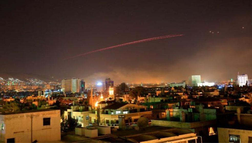 To πριν και το μετά την επίθεση στη Συρία