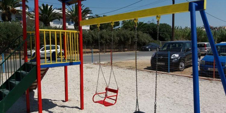 Εγκαινιάζονται δύο παιδικές χαρές στην Τάφρο των Ενετικών Τειχών