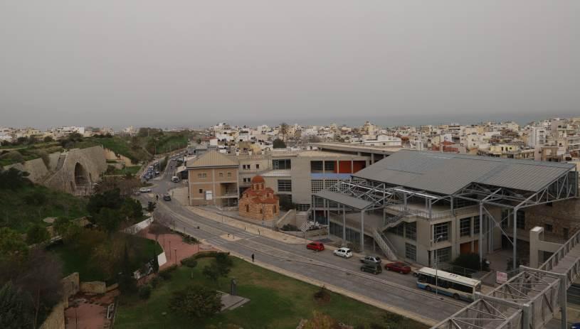 Σαββατοκύριακο με… αφρικανική σκόνη στην Κρήτη