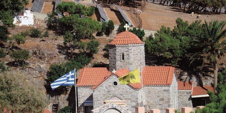 Η Μονή Κουδουμά, η αποκαλούμενη και «Άγιο Όρος της Κρήτης»