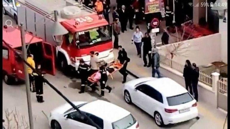 """Αυτοκίνητο """"μπούκαρε"""" σε σούπερ μάρκετ - Μια τραυματίας"""