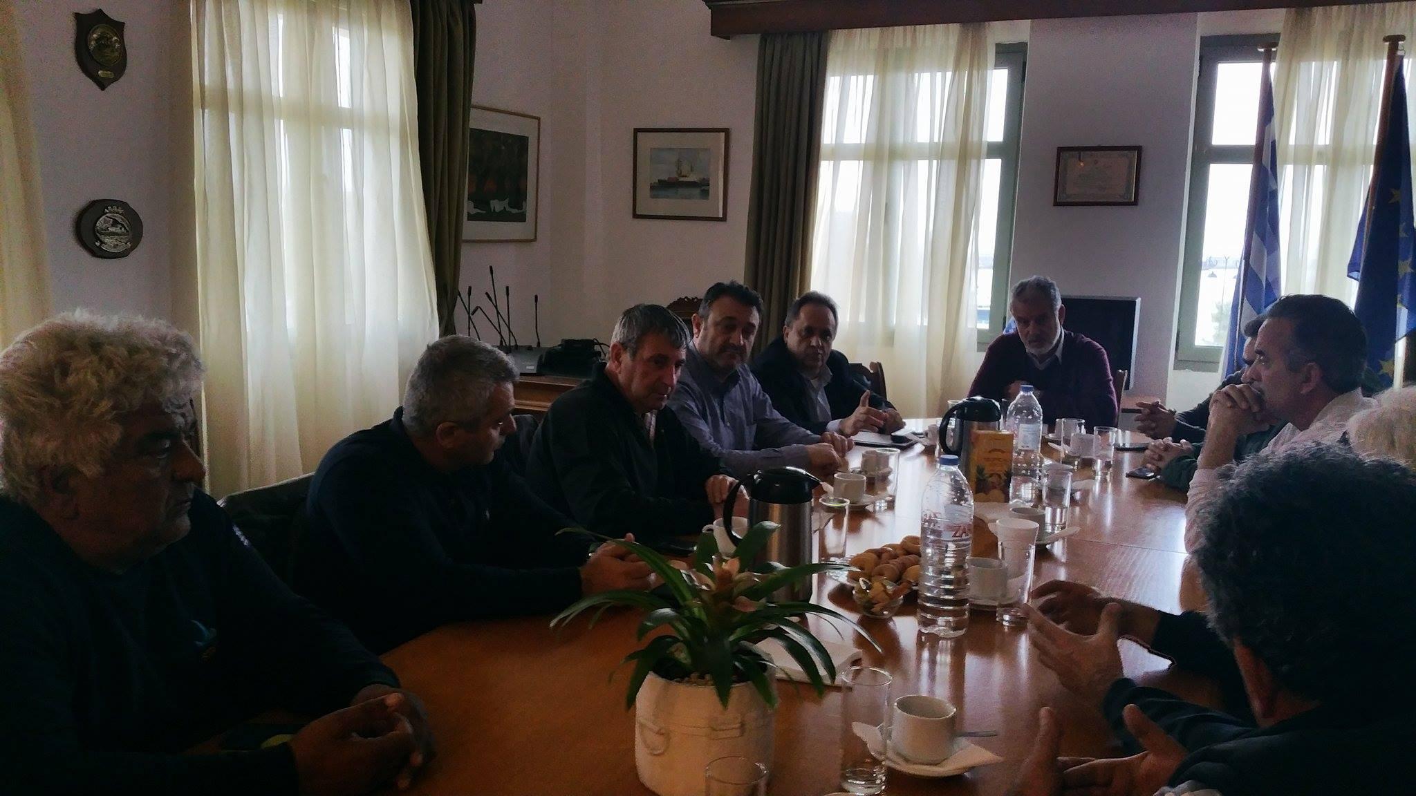 Δεσμεύσεις από τον ΟΛΗ για τα προβληματα των εργαζομένων στο Λιμάνι του Ηρακλειου