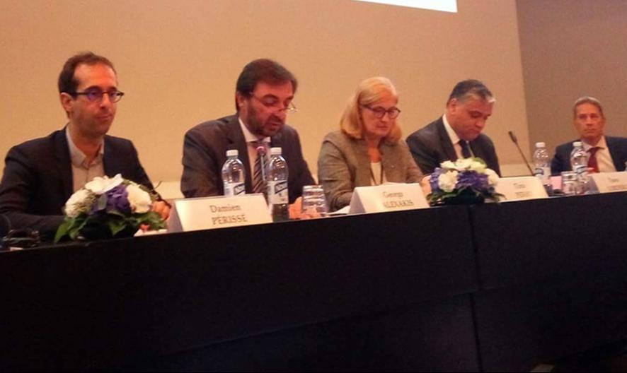 Για την ανάπτυξη των Θαλάσσιων Περιφερειών μίλησε ο Αντιπεριφερειάρχης Κρήτης Γ. Αλεξάκης