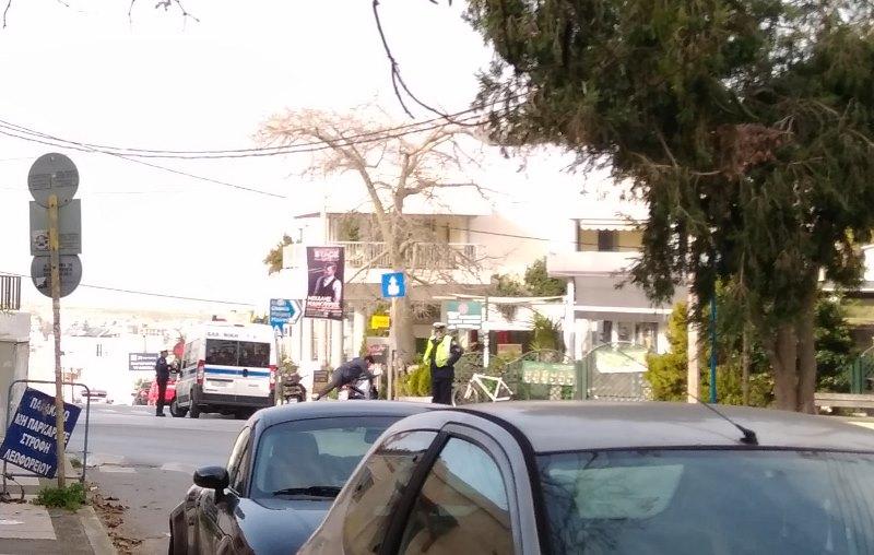 Τροχαία: Μπλόκα... σε επικίνδυνες οδικές συμπεριφορές στο Ηρακλειο