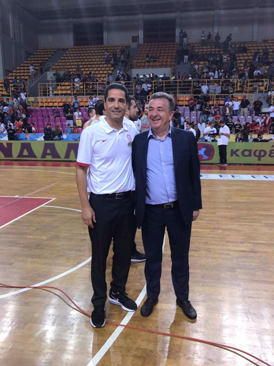Ικανοποίηση μετά την επιτυχία του διεθνούς τουρνουά Μπάσκετ