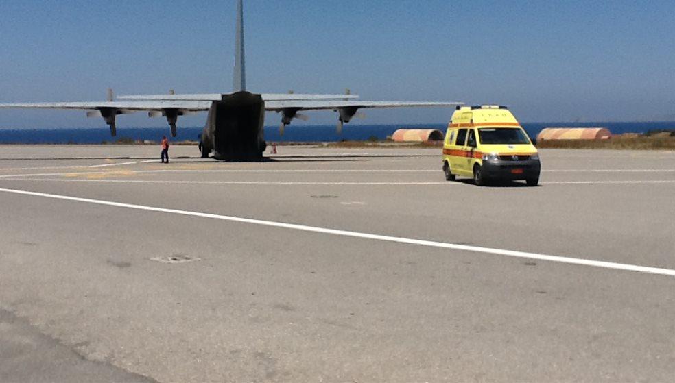 Αερογέφυρα ζωής για νεογνό από Λέρο - Ηράκλειο