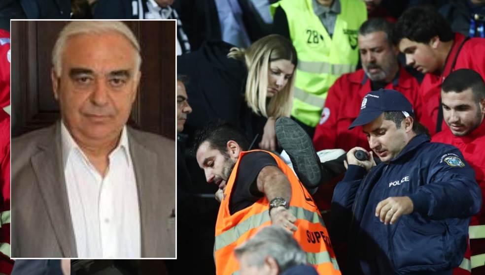 Πέθανε o Γιώργος Δεικτάκης - Έπαθε ανακοπή στο γήπεδο