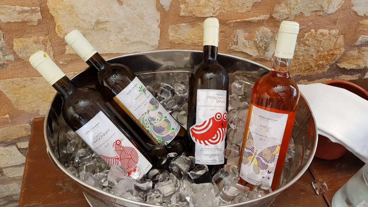 H AgrecoFarms προάγει το κρητικό κρασί