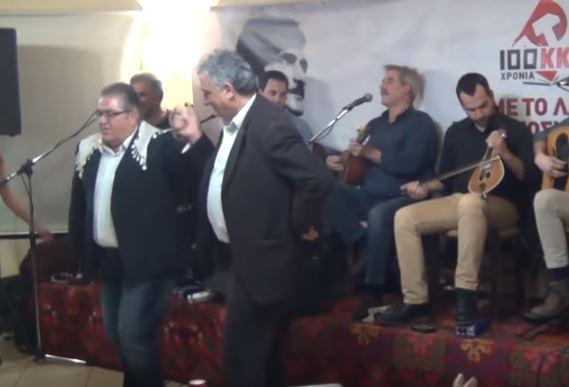 Το τσάμικο του Δημήτρη Κουτσούμπα που χόρεψε στα... Ανώγεια! (vid+pics)