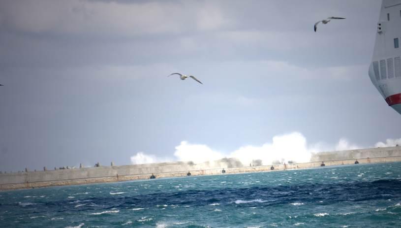 Τα πλοία κανονικά στα λιμάνια μετά την λήξη του απαγορευτικού