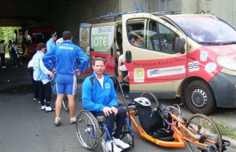 Ξυπνούν μνήμες από τον τραγικό θάνατο του Κρητικού παραολυμπιονίκη
