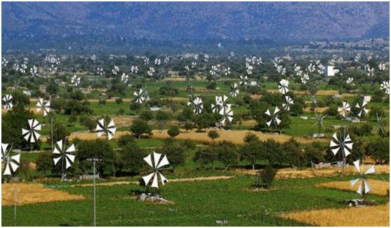 """Κρήτη: """"Σηκώνουν"""" πανιά οι ανεμόμυλοι για να ενταχθούν στα μνημεία της UNESCO"""