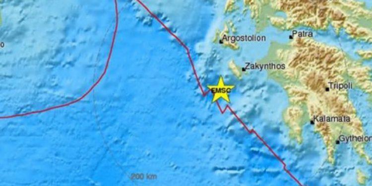 Σεισμός 4,6 Ρίχτερ στη Ζάκυνθο