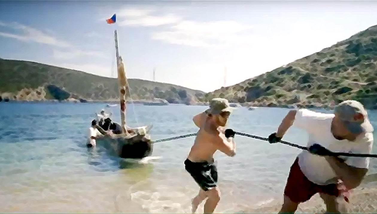 Αρχαίο πλοίο μαγνητίζει τα βλέμματα στο Λιμάνι Ηρακλείου
