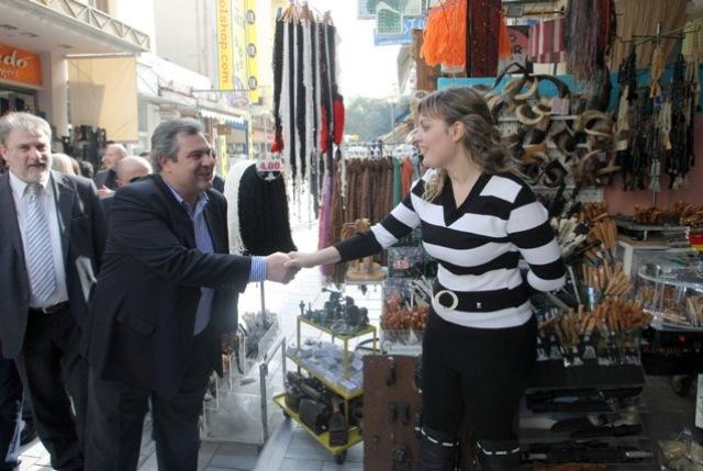 """""""Απελευθέρωση της χώρας από τις δυνάμεις κατοχής"""", ζήτησε από το Ηράκλειο ο Π. Καμμένος (pics)"""