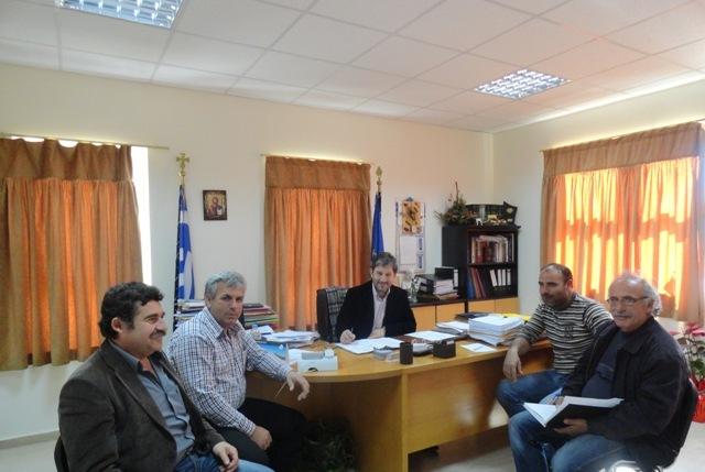 Σύσκεψη στο Δήμο Γόρτυνας με θέμα τις διορθωτικές αλλαγές