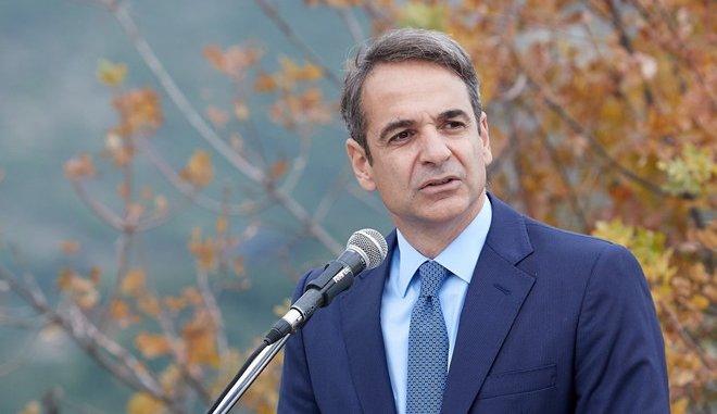 Στην Κρήτη ο πρόεδρος της ΝΔ, Κυριάκος Μητσοτάκης