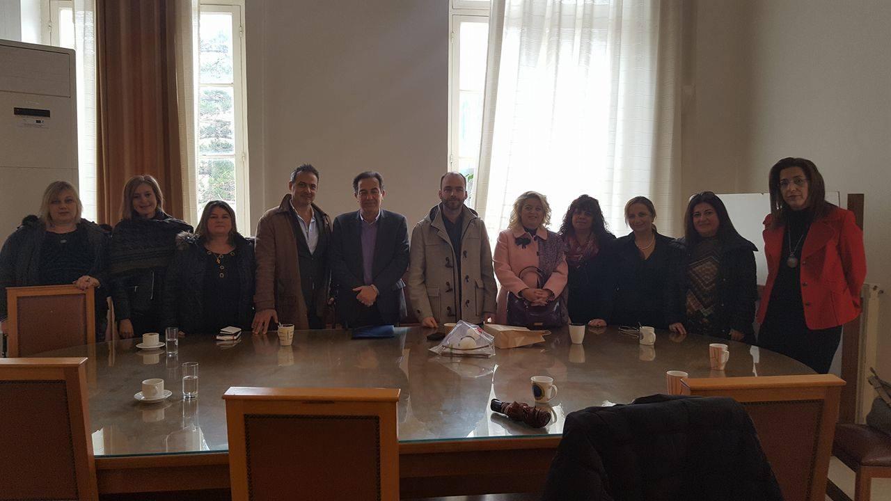 Συνάντηση Αντιδήμαρχου Παιδείας με Σχολικούς Συμβούλους