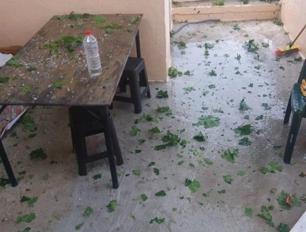 Κρήτη: Καταστροφικό χαλάζι σε χωριά (βίντεο - φωτογραφίες)