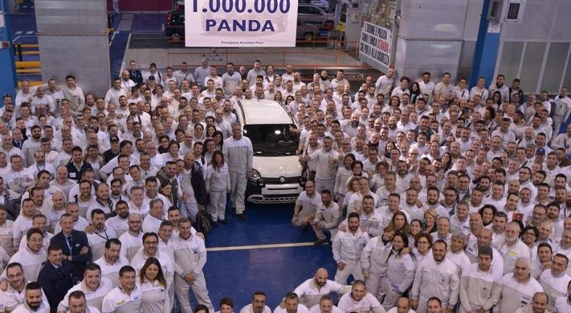Ένα εκατομμύριο Fiat Panda στην παραγωγή