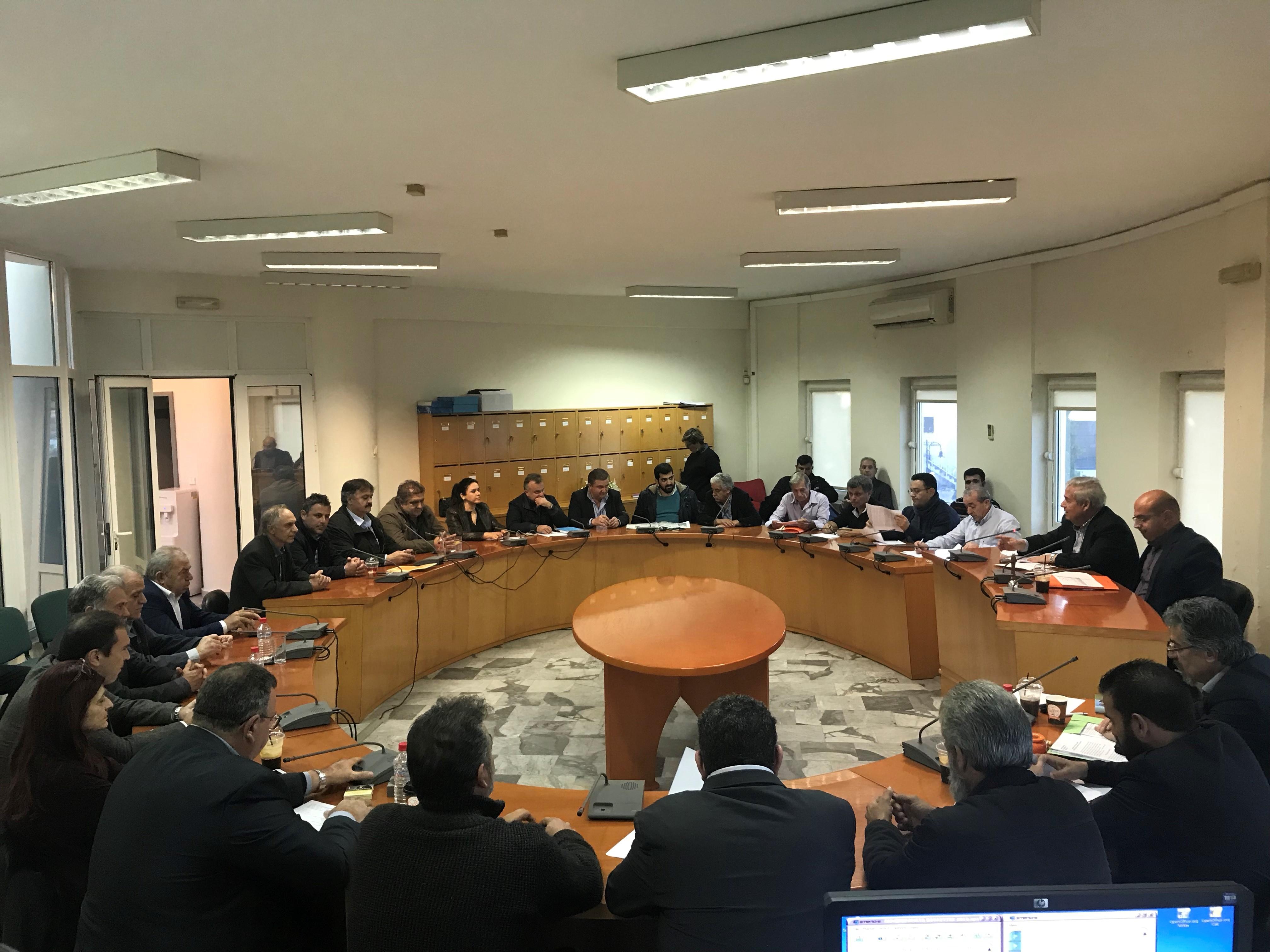 Η απομάκρυνση του ΑΗΣ Ληνοπεραμάτων και όλα τα ενεργειακά θέματα στη συνάντηση με τους Βουλευτές