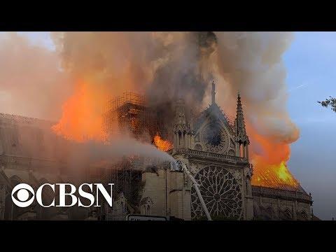 Παναγία των Παρισίων: Ανείπωτη θλίψη για το εμβληματικό μνημείο - «Άφωνη» η υφήλιος
