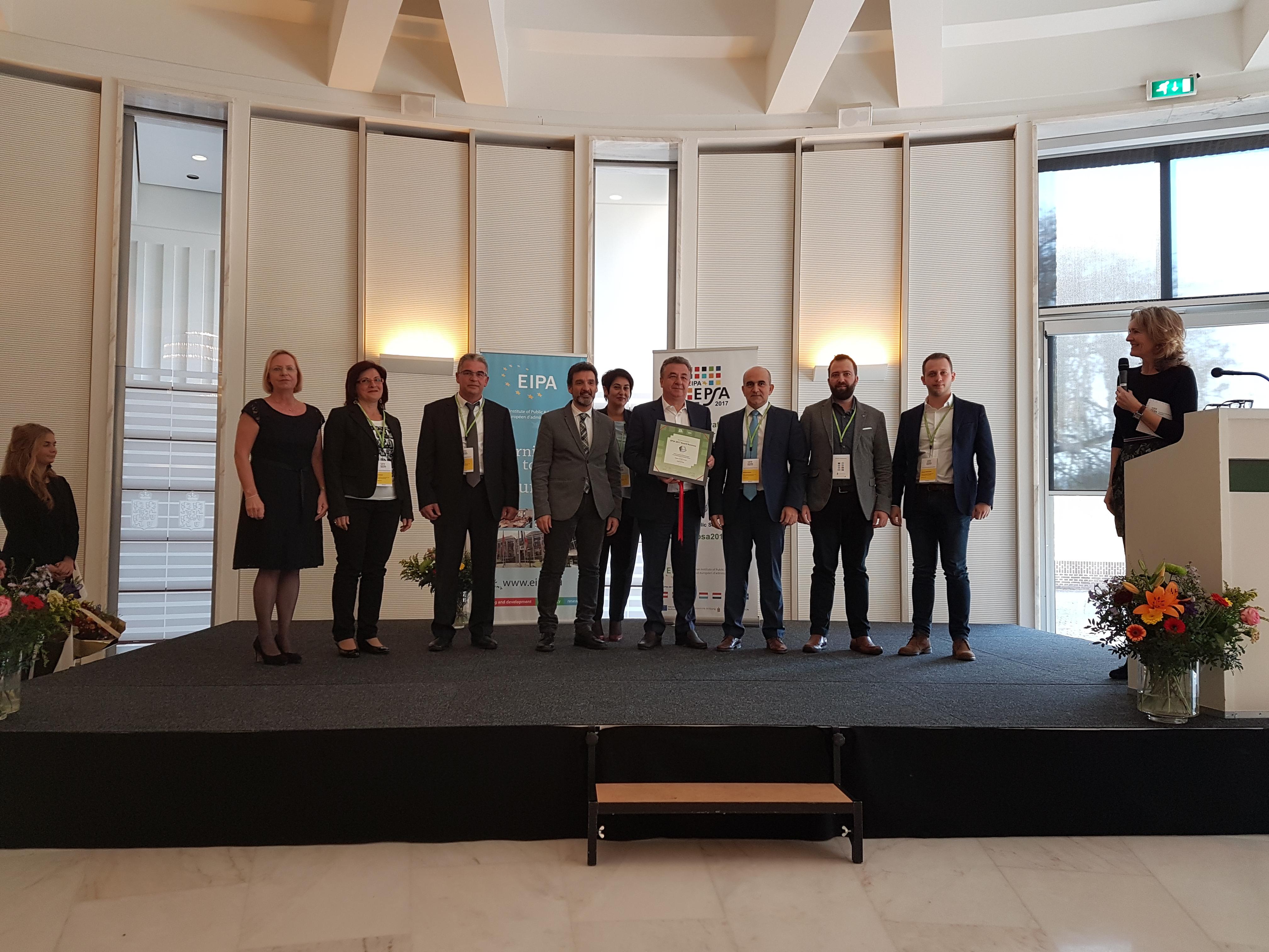 «Αργυρό» Πανευρωπαϊκό βραβείο Δημόσιας Διοίκησης για την Περιφέρεια Κρήτης στον «τελικό» ...της Ολλανδίας