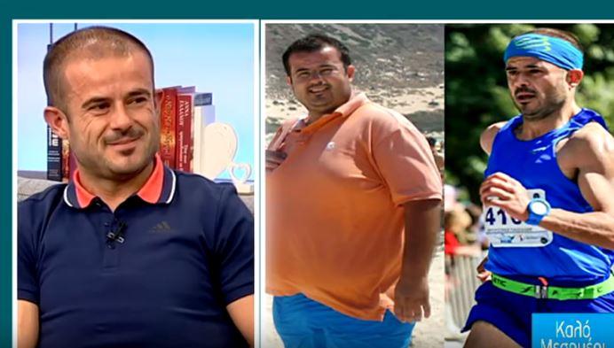 Αυγουστίνος: Πριν υπέρβαρος, σήμερα ενας Ηρακλειώτης... μαραθωνοδρόμος (vid)