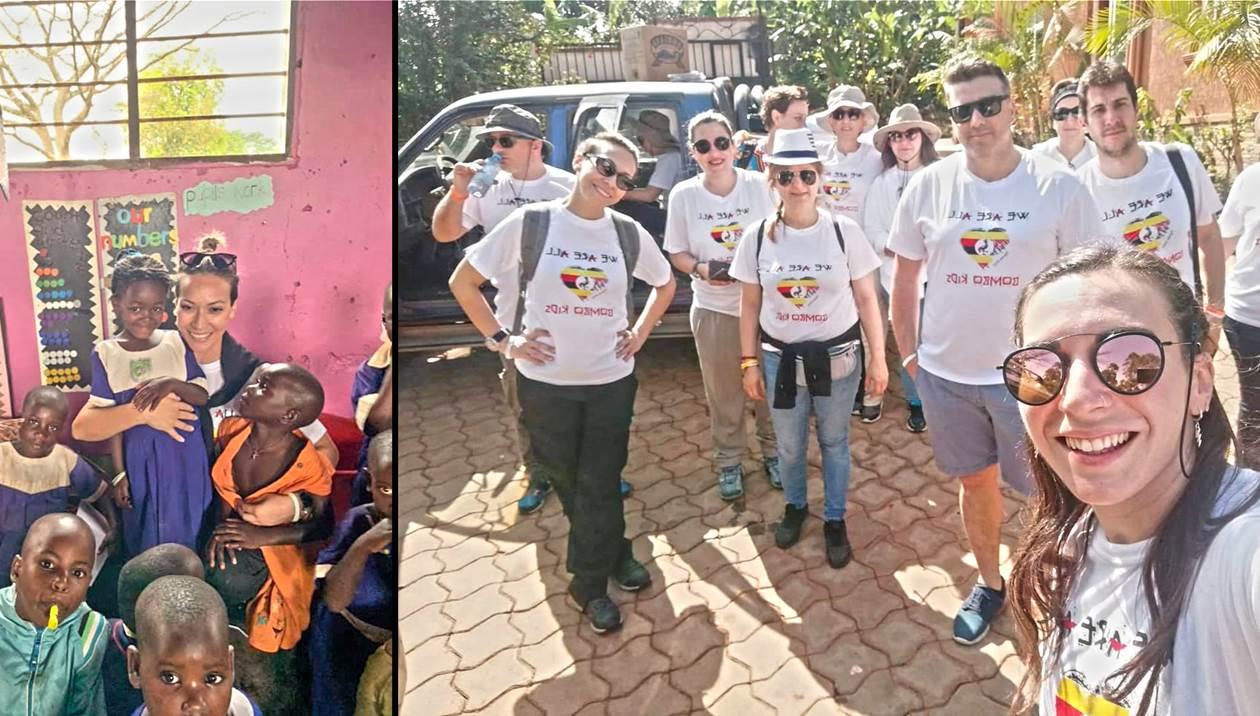 Bombo Kids: Συγκινητικές εικόνες από την Κρητική αποστολή στην Ουγκάντα