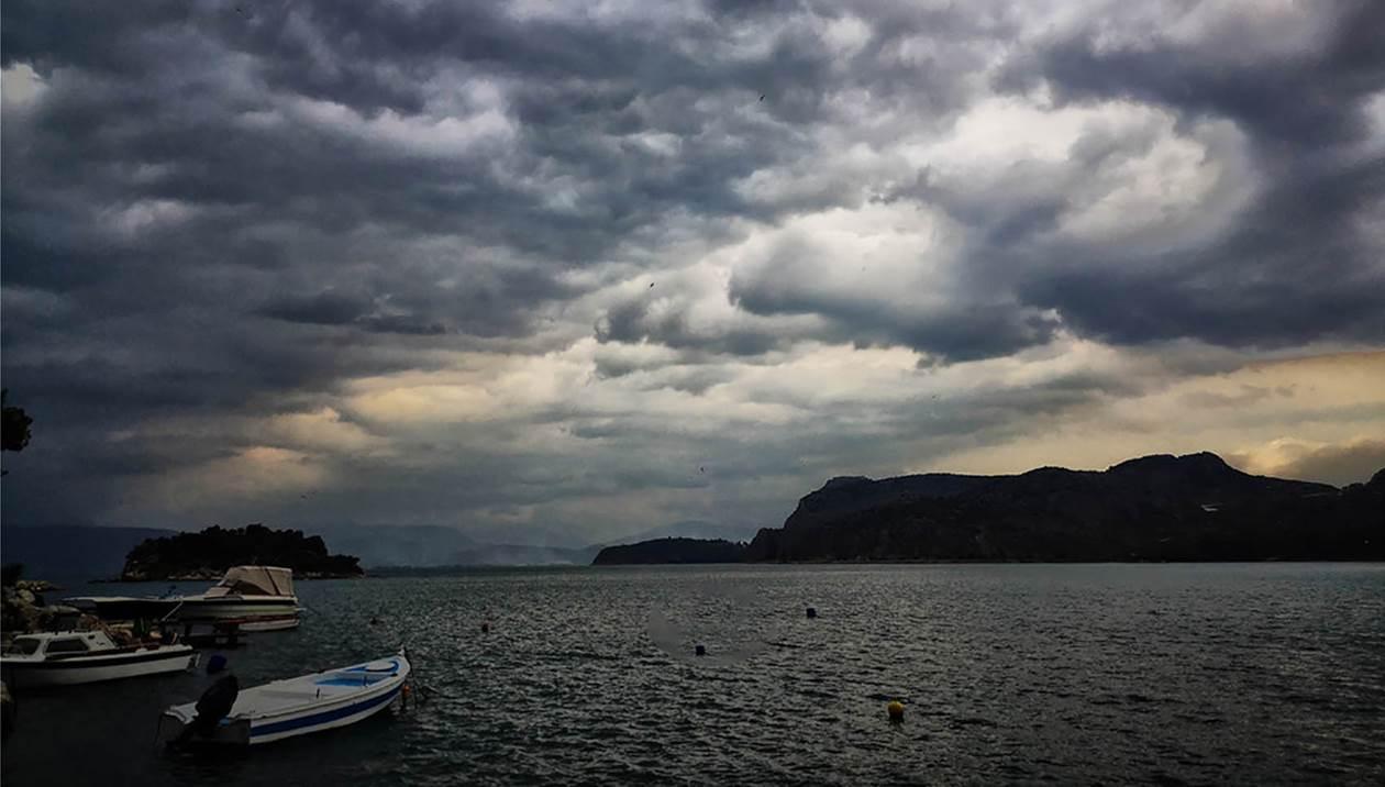 Χειμωνιάτικο το σκηνικό του καιρού την Παρασκευή στην Κρήτη