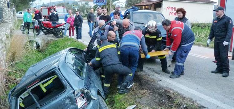Πυρκαγιά σε φορτηγό στo Ρεθυμνο- Γλύτωσε ο οδηγός