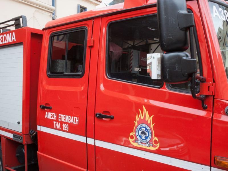 Φωτιά έκαψε ελαιόδεντρα στο δήμο Ιεράπετρας - Έπνεαν ισχυροί άνεμοι